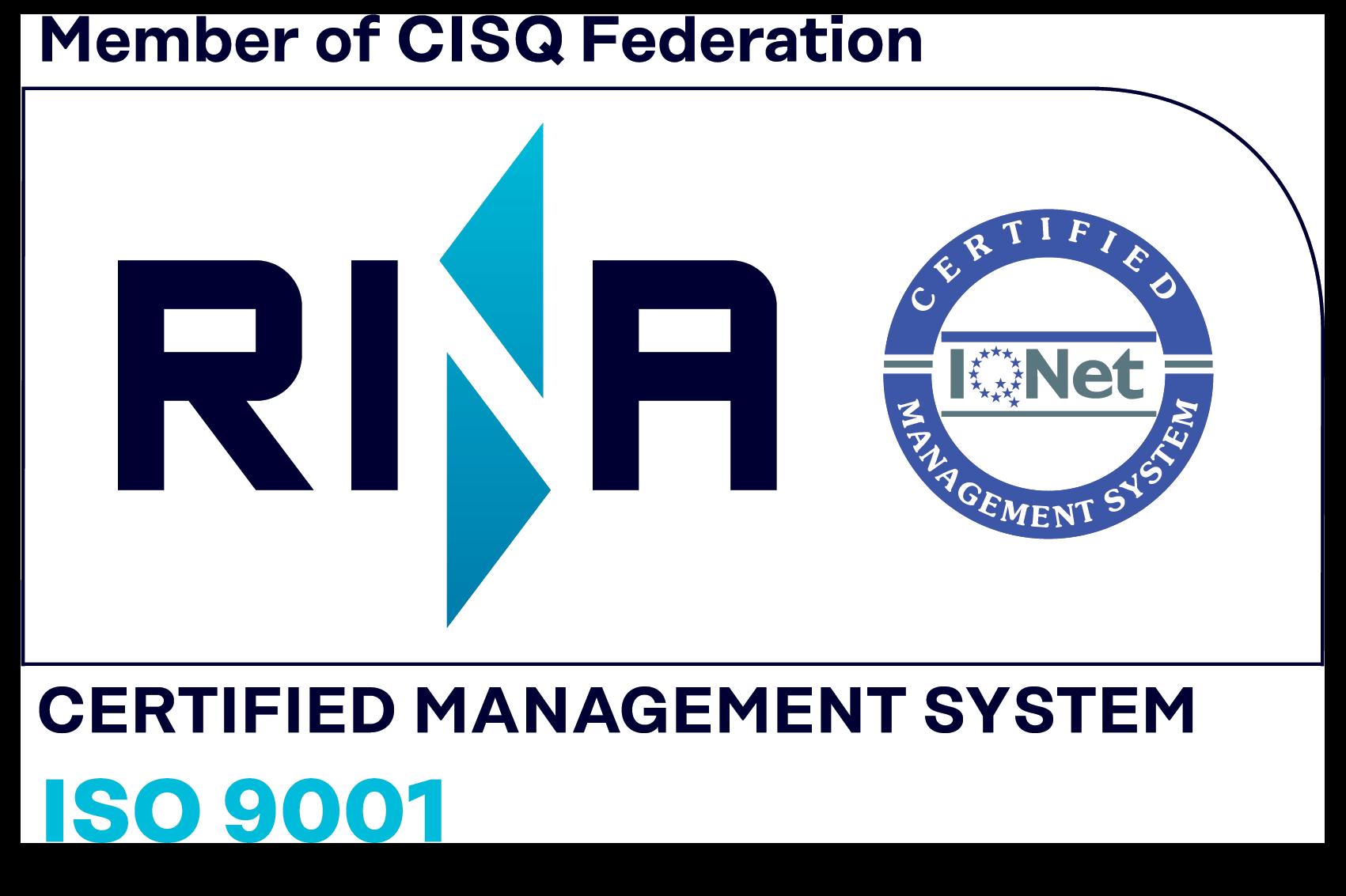 Logo Certificazione qualità